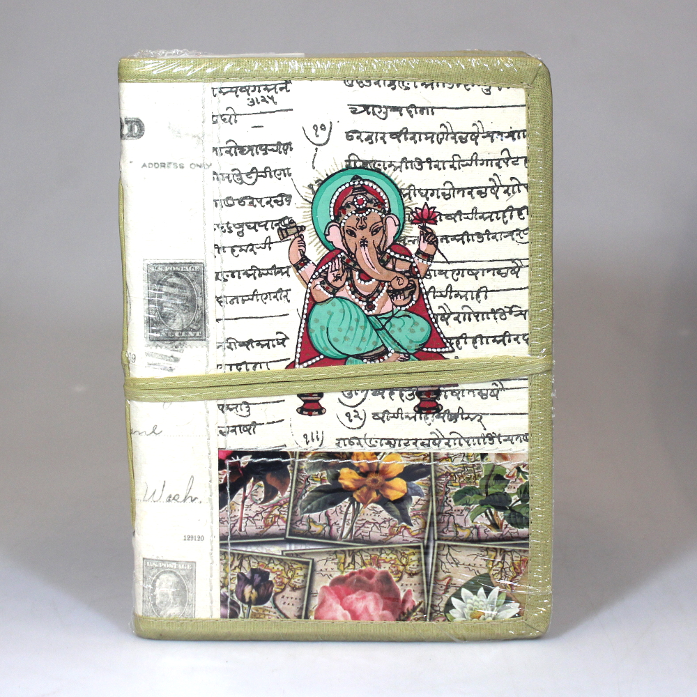 Notitieboek 15x20cm Bahi only natural - India