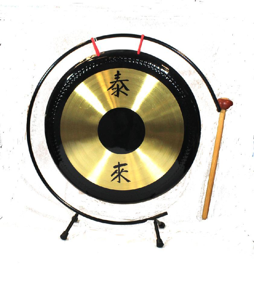 Gong D 30cm hangend met stok - China