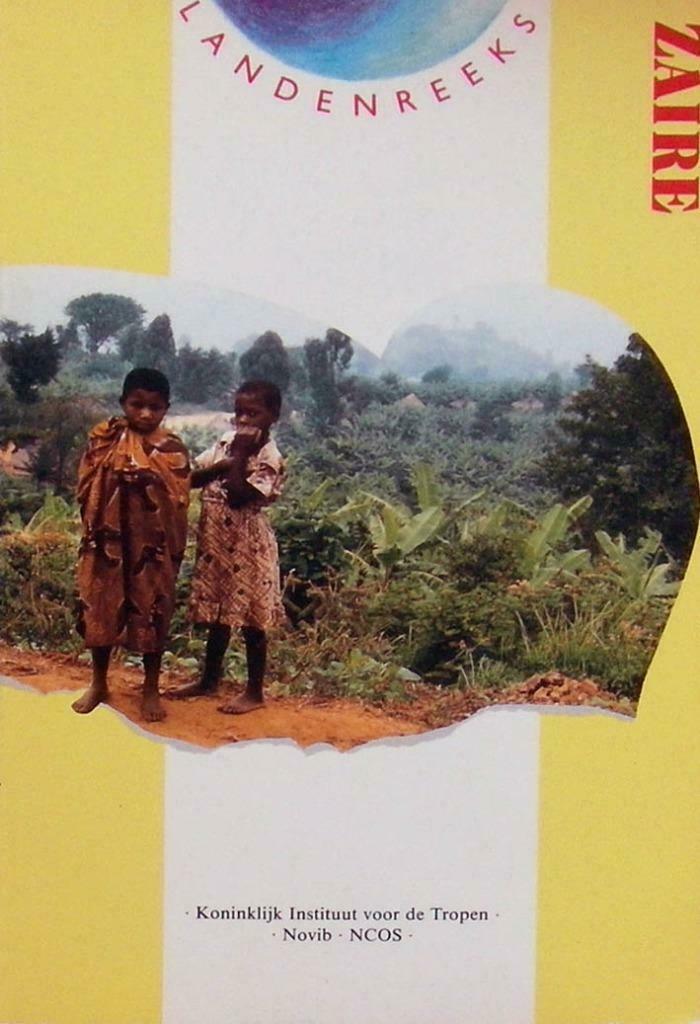 Landenreeks ZAIRE (Congo) 1991 Mark Fillet - Novib Tropeninstituut