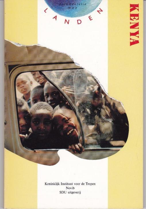Landenmap Kenya 1988 Dietz e,a, - Novib-Tropeninstituut