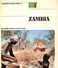 Landenmap Zambia 1981 Renkema - Novib-Tropeninstituut
