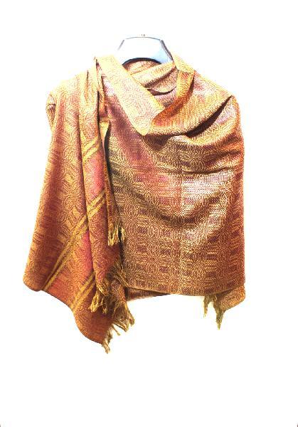 Sjaal - Shawl 58x175cm Zijdeglans - Ecuador