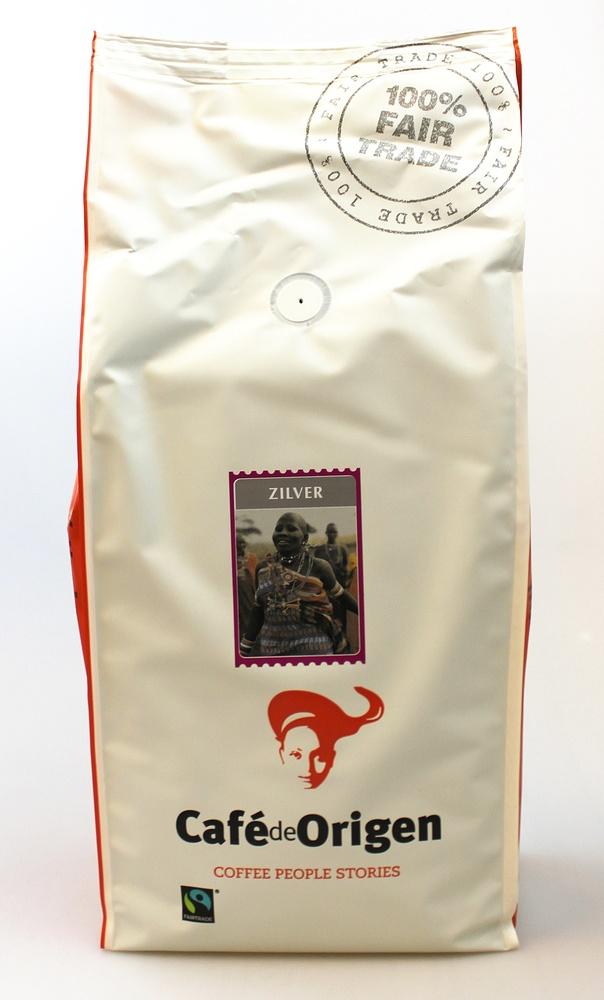 Koffie-kg-pak Zilver SNEL en Mild Cafe de Origen 1000g snelfilter Neuteboom - Cepicafe Peru