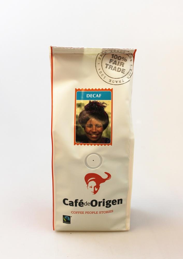 Koffie Decafe Cafe de Origen 250g snelfilter Cafeinevrij Neuteboom - Cepicafe Peru