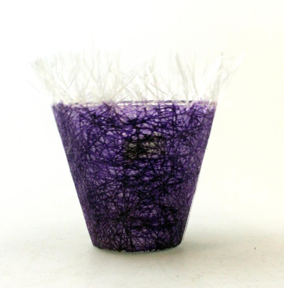 Waxinelicht glasfiber violet - Vietnam