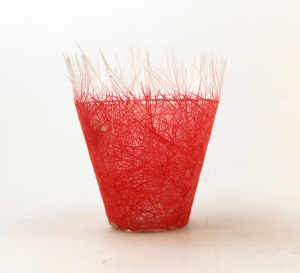Waxinelicht glasfiber rood - Vietnam