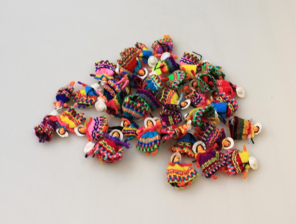 Gelukspopje Enkel 3cm - Peru