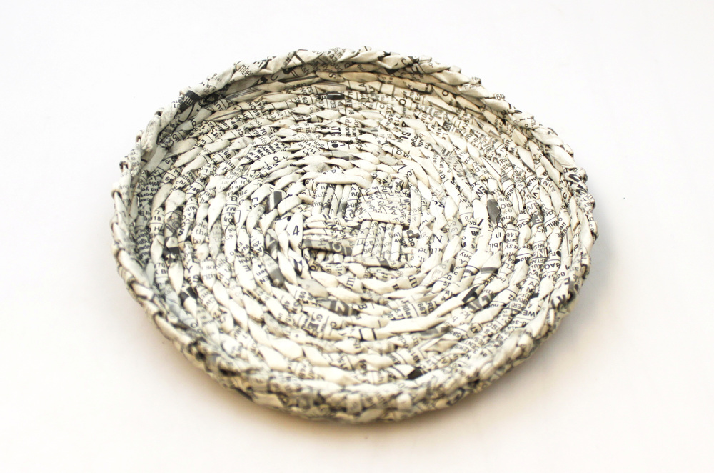 Schaaltje papier 18cm - Filippijnen