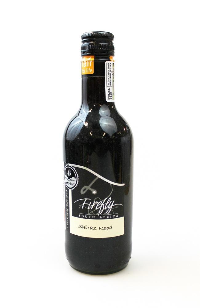Wijn rood Firefly Shiraz organic red BIO 25cl Stellar Winery - Zuid Afrika