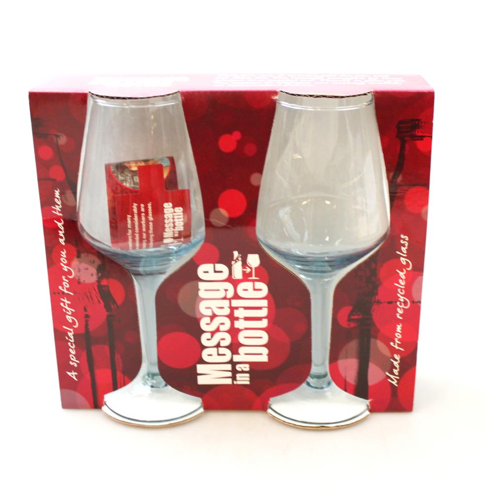 Wijnglas 19cm set van 2 - Vietnam
