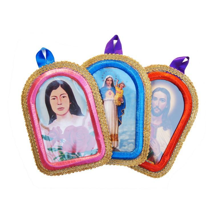 Hanger Maria en andere heiligen 18cm - Titicaca - Peru