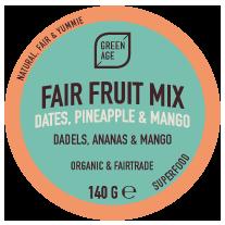 Fair Fruit Mix 140g bio en fair GreenAge Cerro - Filippijnen