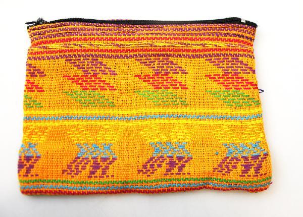 Portemonnee geweven 11 x 15 cm - Guatemala