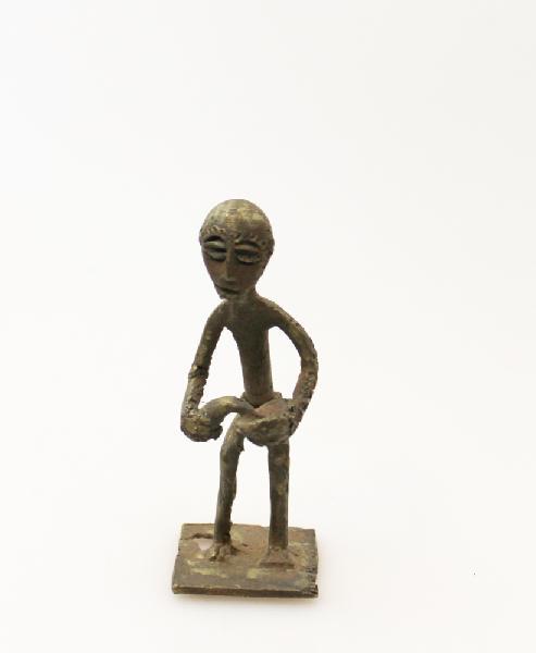 Beeld Beroep brons, 9 -12 cm groot - Ghana