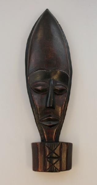Masker Asetima hangend/staand - Ghana