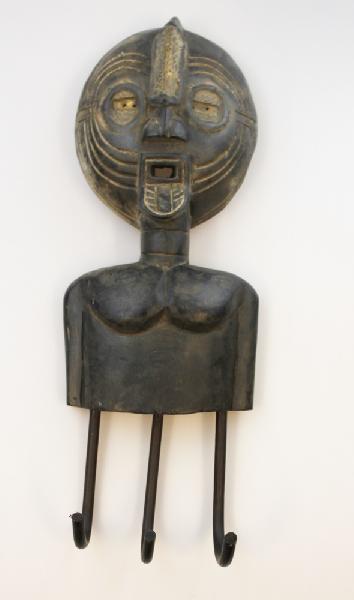 Masker Brass met kapstok - Ghana