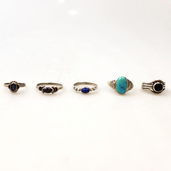 Ring zilver 1 kleine steen - Thailand