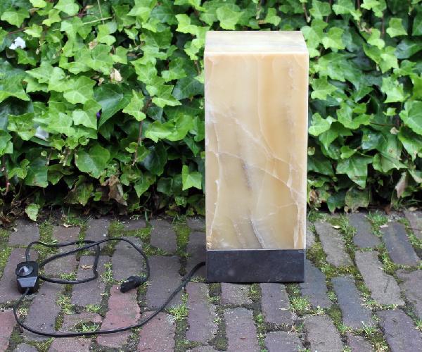 Lamp Onyx 35cm hoog - Indonesie