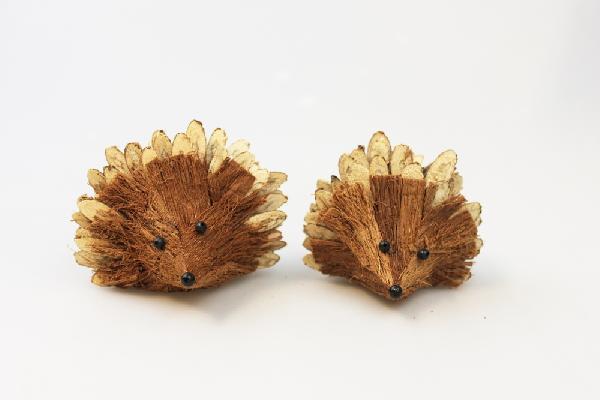 Dier: Egel hout 8cm - Thailand