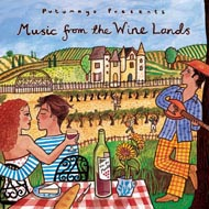 CD Music from the Wine Lands Putumayo hoesje beschadigd