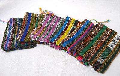 Kadozakje Corte 6x8cm M kleurig - Guatemala