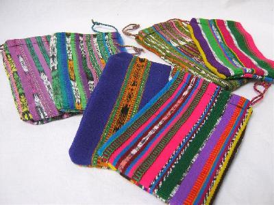 Kadozakje Corte 9x15cm L kleurig - Guatemala